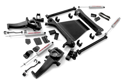 4-5-inch X-Series Suspension Lift Kit (3-inch Rear Blocks)