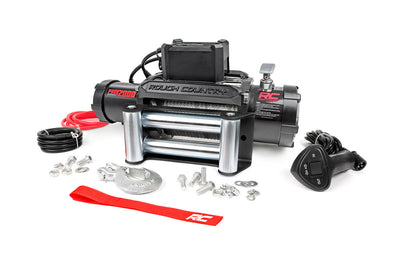 12,000-Lb PRO Series Electric Winch w/ Steel Cable