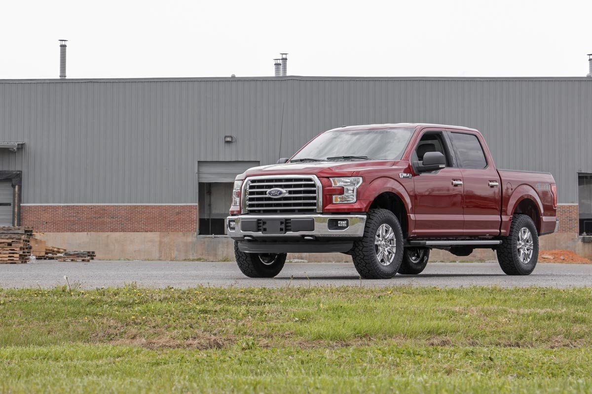 2016 F150 Lift Kit >> 2in Ford Leveling Lift Kit 09 18 F 150