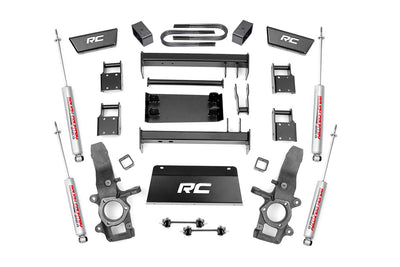 4-5-inch Suspension Lift Kit (3-inch Rear Blocks)