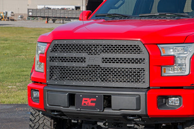 Laser-Cut Mesh Replacement Grille (Ford F150)