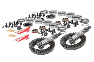 Front HP D30 & Rear D35 4.10 Gear Set w/ Install Kits (84-99 Cherokee XJ)