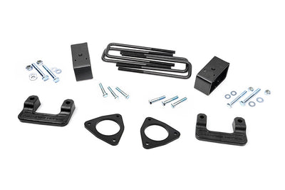 2.5-inch Suspension Leveling Lift Kit (Factory Cast Aluminum Control Arm Models)