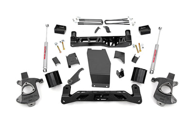 5-inch Suspension Lift Kit (Factory Cast Steel Control Arm Models)