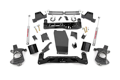 6-inch Suspension Lift Kit (Factory Cast Aluminum / Stamped Steel Control Arm Models)
