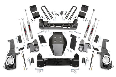 7.5-inch Non-Torsion Drop Suspension Lift Kit