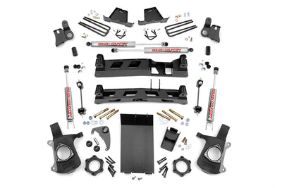 4-inch Non-Torsion Drop Suspension Lift Kit