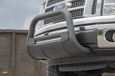 Black Bull Bar w/ Integrated Black Series 20-inch LED Light Bar