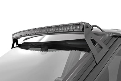 50-inch Black Series Single Row Curved CREE LED Light Bar