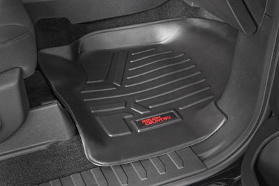 Heavy Duty Floor Mats - Front & Rear Combo (SuperCrew Cab Models)