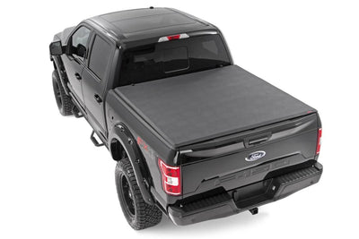 Soft Tri-Fold Tonneau Bed Cover (6.5-foot Bed w/o Cargo Management System)