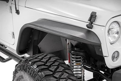 Front & Rear Tubular / Tube Steel Fender Flare Set