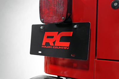 License Plate Adapter (Wrangler TJ / LJ)