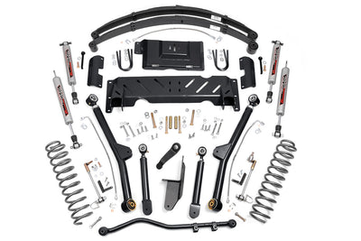 4.5-inch X-Series Long Arm Suspension Lift System