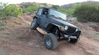 2.5-inch Suspension Lift System