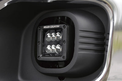 2-inch Black Series CREE LED Fog Light Kit (Ford Super Duty)