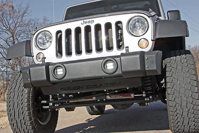 2-inch Chrome Series CREE LED Fog Light Kit (07-18 Wrangler JK)