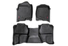 Heavy Duty Floor Mats - Front & Rear Combo (Extended Cab Models)