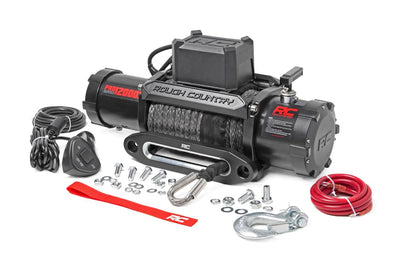 12,000-Lb PRO Series Electric Winch w/ Synthetic Rope