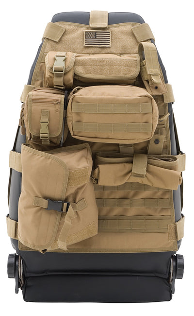 Gear Seat Cover - Front - Coyote Tan Jeep, 76-16 CJ & Wrangler (YJ/TJ/LJ/JK)