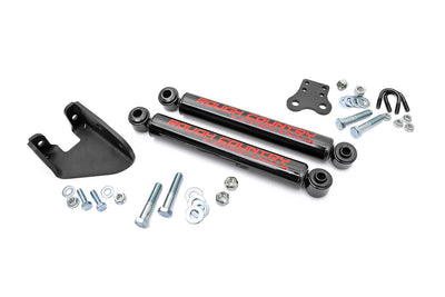 Stacked Dual Steering Stabilizer for 4-6-inch Lifts