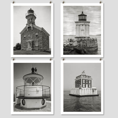 New England Lighthouse Photo Collection - HistoricalPix