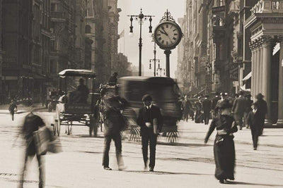 New York City, Flat Iron Building, NYC, Circa 1900 HistoricalPix