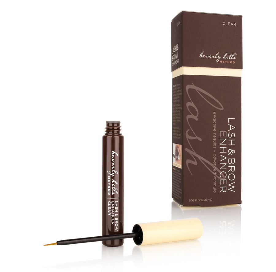 CLEAR LASH AND BROW <br>ENHANCER