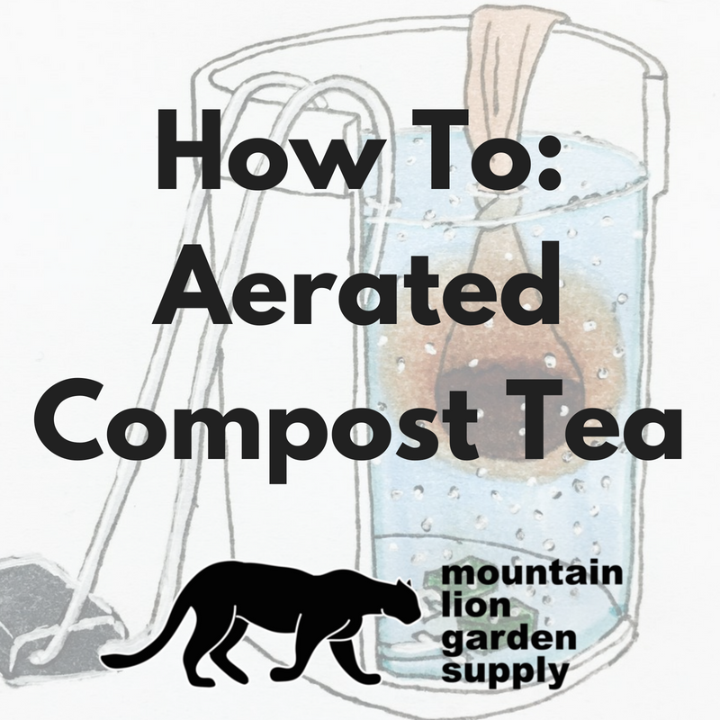 Aerated Compost Tea