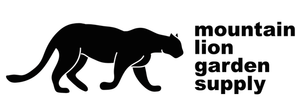 Mountain Lion Garden Supply Logo
