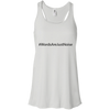 Awareness tank #WordsAreJustNoise  Flowy Racerback