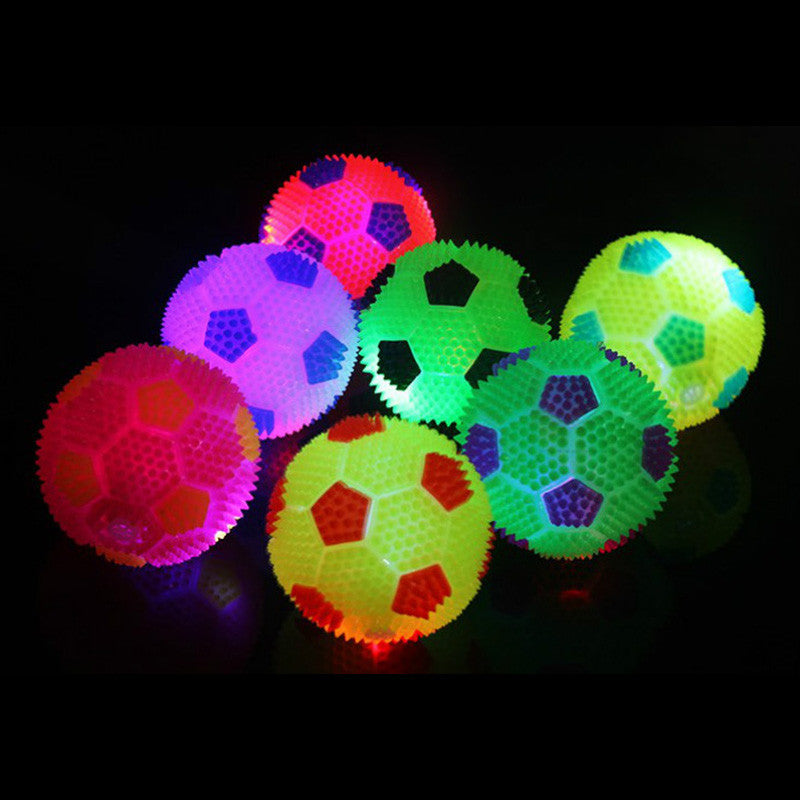 Peradix Soccer Football Toy LED Fun Sensory Toys Stress Autism ADHD Sound Toy For Children Toy