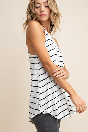 Pretty Girl Stripe Tank