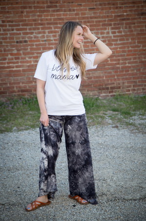 Work From Home - Tie Dye Lounge Pants