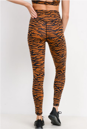 Eye of the Tiger - Tiger Print Legging