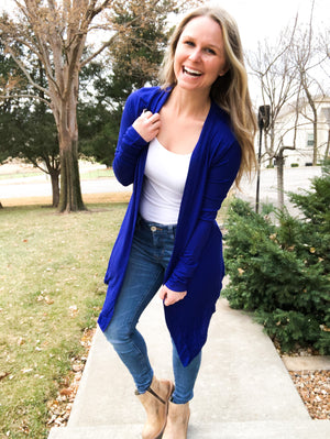 Denim Blue Cardigan
