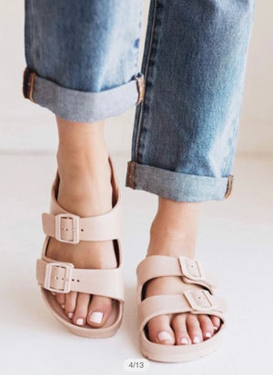 Crush and Blush - Blush Water Slide Sandal