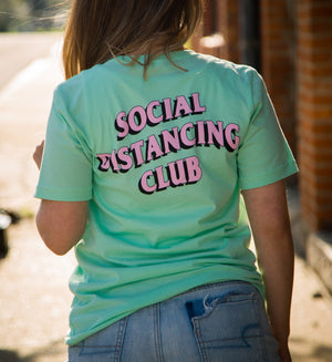 Social Distancing Club - Graphic Tee