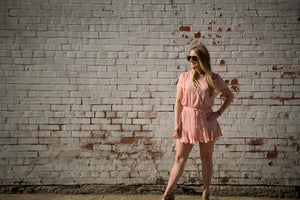 Bubble Gum Happy - Romper