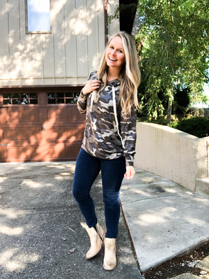 Exposed - Camo Hoodie Sweatshirt