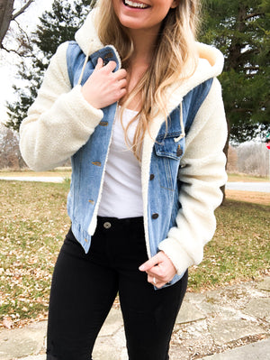 Front Page Worthy - Denim Jacket