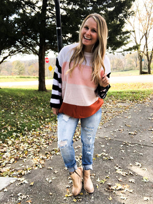 Days of Warmth - Multi Stripe Sweater