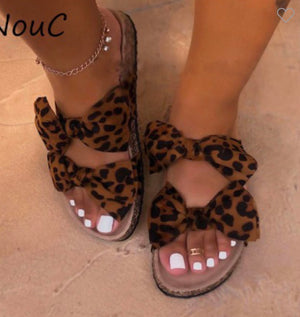 So Much Yes - Leopard Sandals