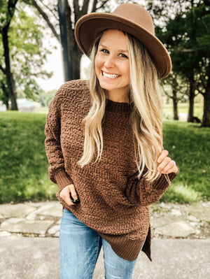 My Cup Of Coffee - Mocha Popcorn Sweater
