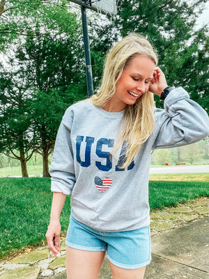 America The Beautiful - USA Sweatshirt