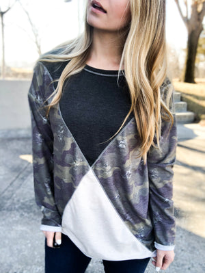 You're Gonna Need This - Camouflage Top