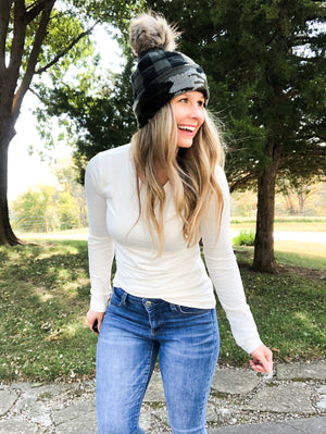 Perfect Layer - Cream Long Sleeve Top