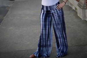 Safe At Home - Navy / White Lounge Pants