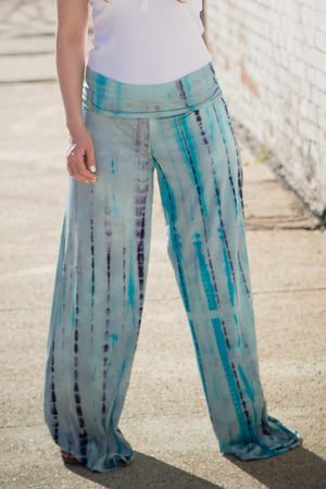 Miss My People - Aqua Blue Lounge Pants