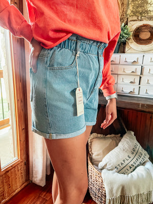 Denim Booty - Denim Shorts